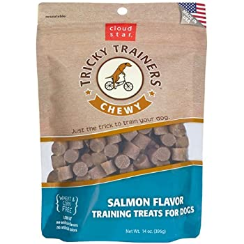 Cloud Star Chewy Tricky Trainers, Salmon Flavor, 14-Ounce Pouch