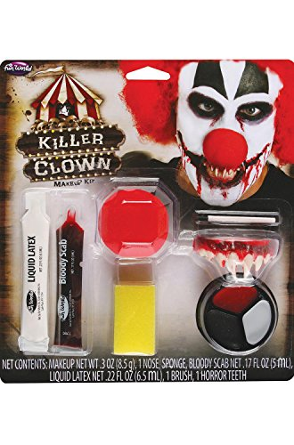 Pennywise Halloween Makeup (Killer Clown Makeup Kit Costume)