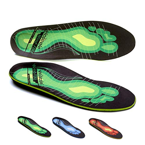 VOCOFA Plantar Fasciitis Insoles Arch Support Shoe Inserts Orthotic Insole Insert for Flat feet Over Pronation