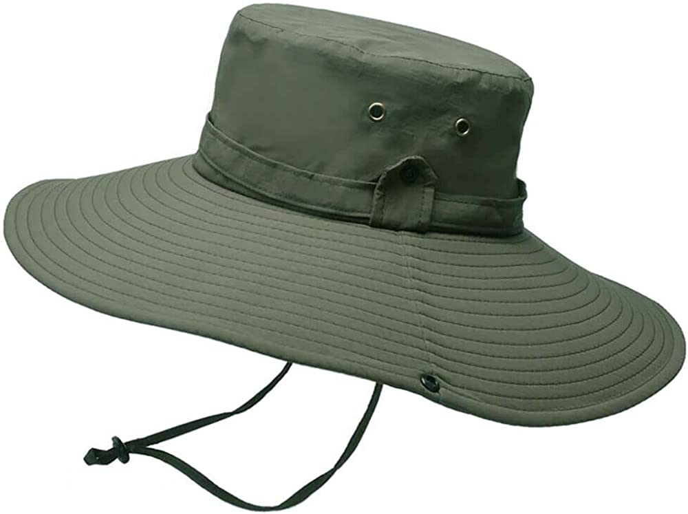 Outdoor Sun Hat UV Protection Foldable Wide Brim Hat