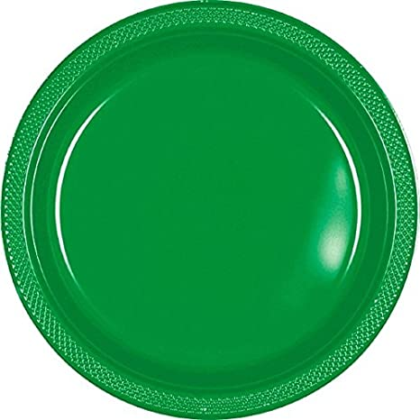 200 ct Party Supply Gold Sparkle Round Plastic Plates 9