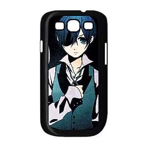 Samsung Galaxy S3 9300 Cell Phone Case Black Black Butler6 Eltxz