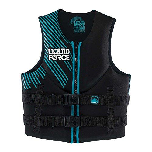 "UPC 013576554358, Liquid Force Womens Vest Black/Teal, XS, 28""-32"""