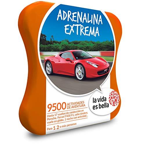 LA VIDA ES BELLA - Caja Regalo - ADRENALINA EXTREMA - 9500 experiencias de aventura: Amazon.es: Deportes y aire libre