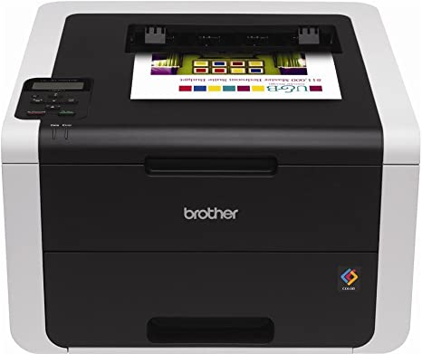 Brother HL-3170CDW Digital Color Printer with Wireless Networking and Duplex, Amazon Dash Replenishment Enabled