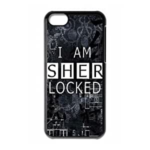 iphone5c cell phone cases Black Sherlock fashion phone cases JY3511732