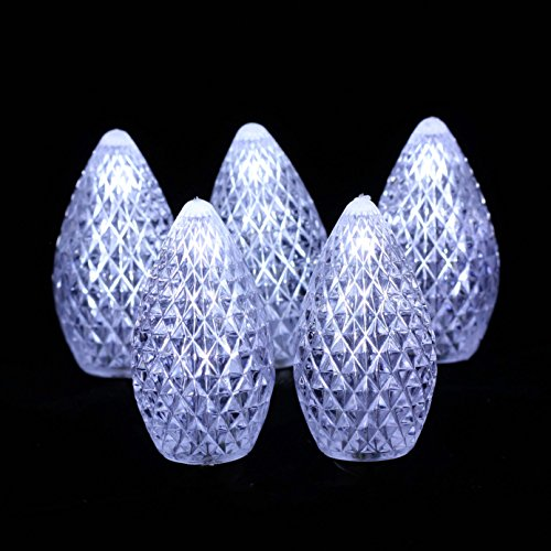 C7 Led Christmas Lights Cool White