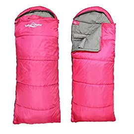 Lucky Bums Compact Lightweight Muir Spring Summer Fall Sleeping Bag