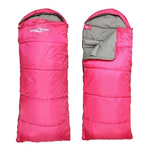 Lucky Bums Compact Lightweight Muir Spring Summer Fall Sleeping Bag