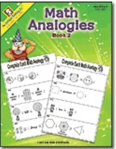 Math Analogies: Book 2 (Grades 4-5)