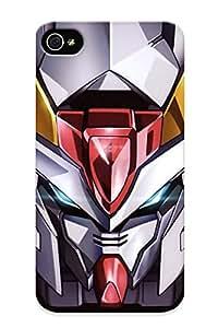 Podiumjiwrp Iphone 4/4s Hybrid Tpu Case Cover Silicon Bumper Mobile Suit Gundam 00