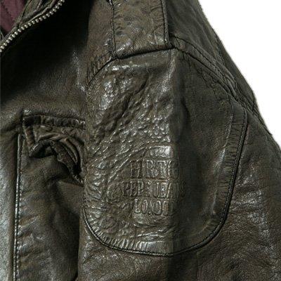 Pepe Jeans Herren Jacke Jack Leder modisches Langarmoberteil Unifarben, Größe: M, Farbe: Braun
