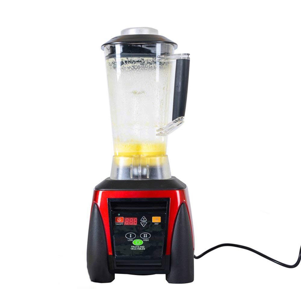 SKYyao Batidora de Vaso, Batidor de Alimentos Batido de Frutas Licuadora Licuadora 2200W: Amazon.es