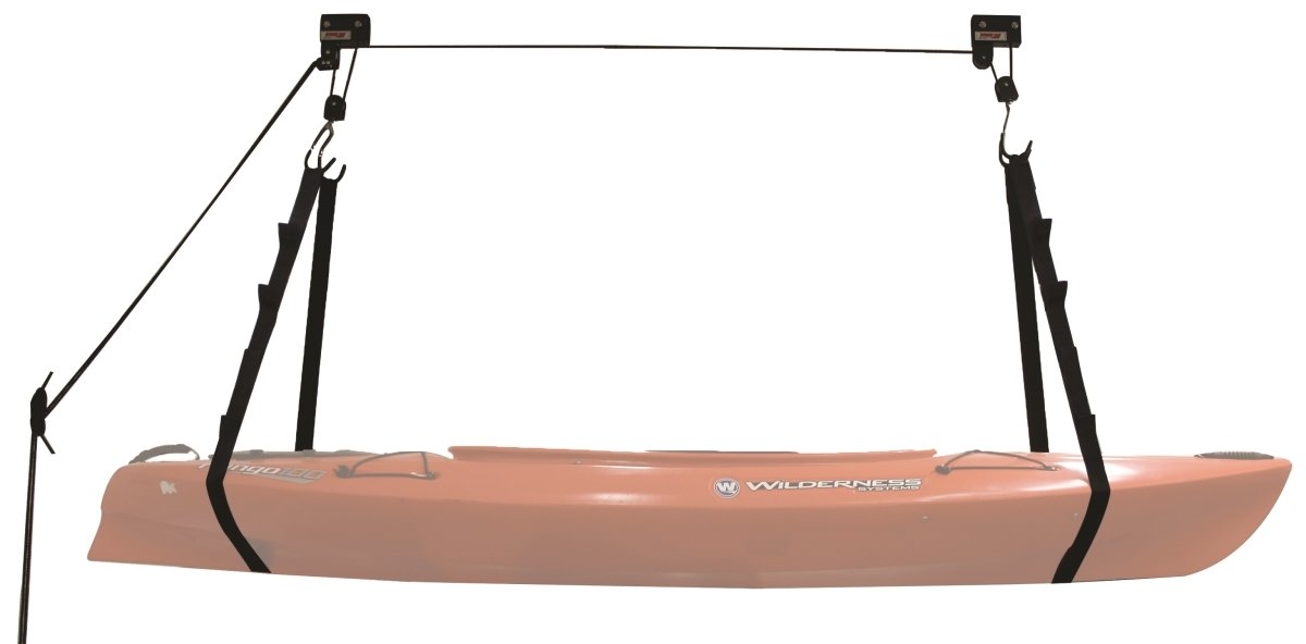 Extreme Max 70360 120 lb. Capacity Kayak Hoist Complete System for Garage by Extreme Max