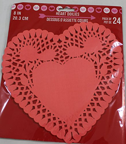 Red Heart Doily - 8
