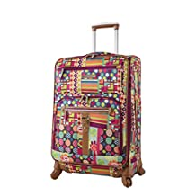 """Lily Bloom 24"""" Exp Spinner Luggage"""