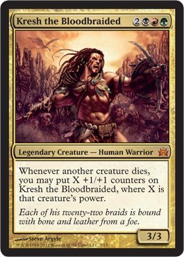 Magic: the Gathering - Kresh the Bloodbraided - From the Vault: Legends - Foil