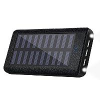 Solar charger 24000mah HuaF Portable Bat...
