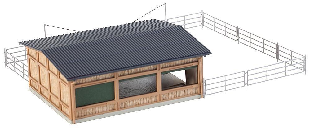 Faller 130547 Livestock Shelter Ho Scale Building Kit