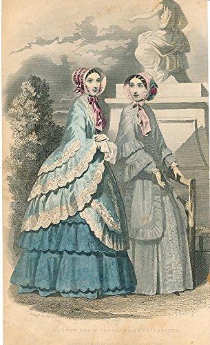 seasonal-summer-dresses-hats-1869-delightful-old-fashion-print