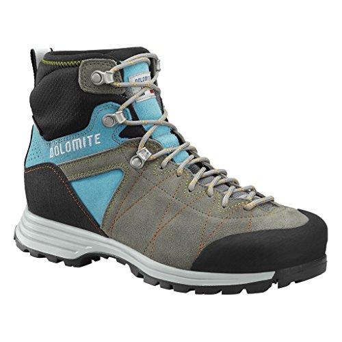 Dolomite 1 5 Donna MONTAGNA GTX SCARPONI Grigio Steinbock Hiking Trekking Hike T4qwOfT