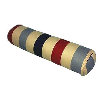 Amazon.com: Dual cilíndrico almohadas cojines de sofá. Color ...
