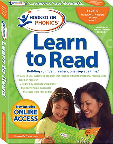 Hooked on Phonics Learn to Read - Level 5: Transitional Readers (First Grade | Ages 6-7) (5) (Hooked On Phonics Readers)