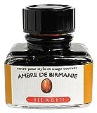 J. Herbin Fountain Pen Ink - 30 ml Bottled - Ambre de Birmanie