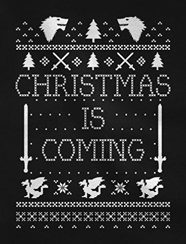Christmas Christmas Christmas Felpa Felpa Felpa Felpa da Coming Donna Ugly Is Navy Christmas rPqrRB4