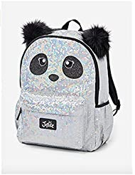 Justice Sparkle Panda Sequin Backpack