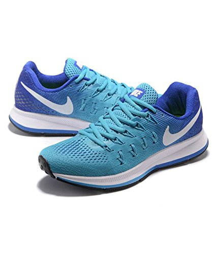 anfitriona nacimiento Noble  Buy Nike AIR Zoom Pegasus 33 Blue Running Shoes at Amazon.in