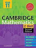 Cambridge 2 Unit Mathematics Year 11, William Pender and David Saddler, 0521147174