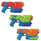 Prime Time Toys Tidal Storm Aqua Strike 3pk Power Pump Water Blasters