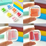 Sponge Soft Noise Sleep Sound-Proof earplugs - Ideal for Sleeping, Studying & Music Concerts - Storage Case Included(20 Pcs)