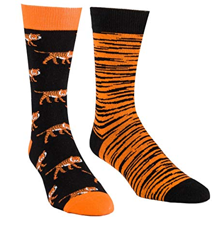 Novelty Funny Cool Socks - Fun Casual Combed Cotton Crew Socks Packs