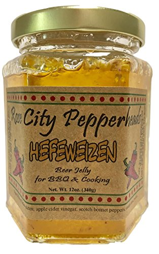 Orange Lime Sauce (Hefeweizen Beer Jelly - Rose City Pepperheads Pepper Jellies - Birtrhday, Hostess, Get Well, Christmas Gift)