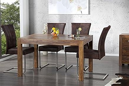 DuNord MUMBAI palissandro legno massiccio Sheesham tavolo da ...