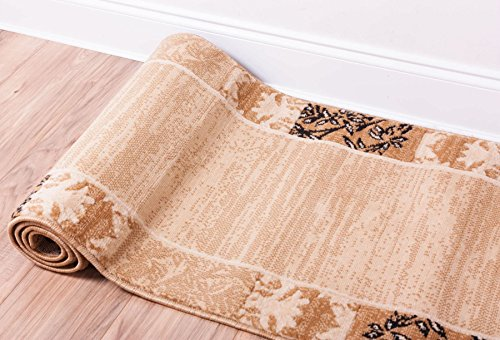 florence-ombre-damask-beige-ivory-red-2x7-2-x-73-runner-area-rug-floral-modern-easy-care-cleaning-sh