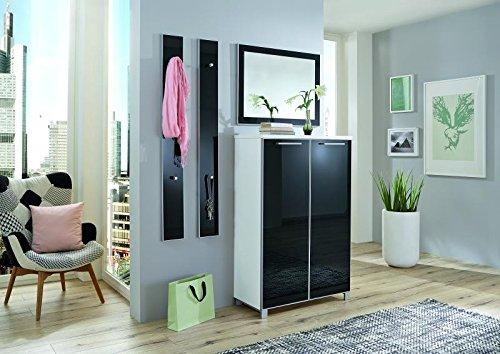 Voss-Möbel Dielenprogramm SANTINA Set 9, ca. 135cm in der Farbe Taupe