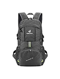 NEEKFOX Lightweight Packable Travel Hiking Backpack Daypack - 35L Foldable Camping Backpack Ultralight Sport Outdoor Backpack