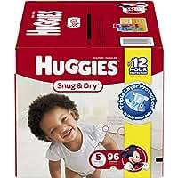 Huggies Snug & Dry Diapers, Size 5 (over 27 Lb), Disney Baby, 96 Count