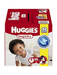 Huggies Snug & Dry Diapers, Size 5 (over 27 Lb), Disney Baby, 96 Count BOBEBE Online Baby Store From New York to Miami and Los Angeles