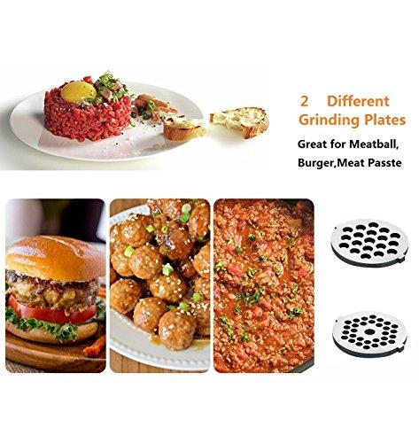 HOZODO Grinder Attachment Compatible Kitchen Mixer Accessories as Food Processor