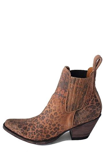 Gaucho Leopardito Womens Boots Ochre BL1312-9