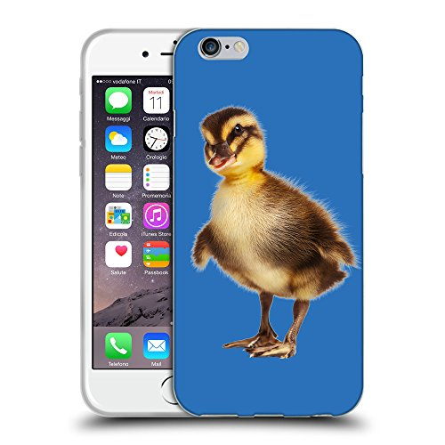 GoGoMobile Coque de Protection TPU Silicone Case pour // Q05770608 caneton Azzurro // Apple iPhone 6 4.7""