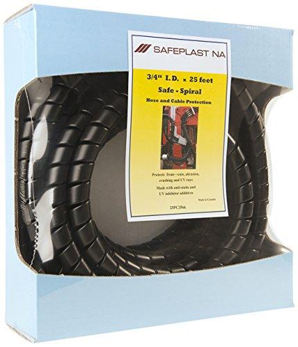 - Pre-Cut Spiral Wrap Hose Protector, 1.0