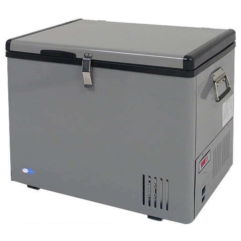 Whynter FM-45G 45-Quart Portable Refrigerator/Freezer, Platinum (Renewed)