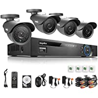 Annke 8-Ch. 1.3MP 4-Cam Security System with 1TB HDD