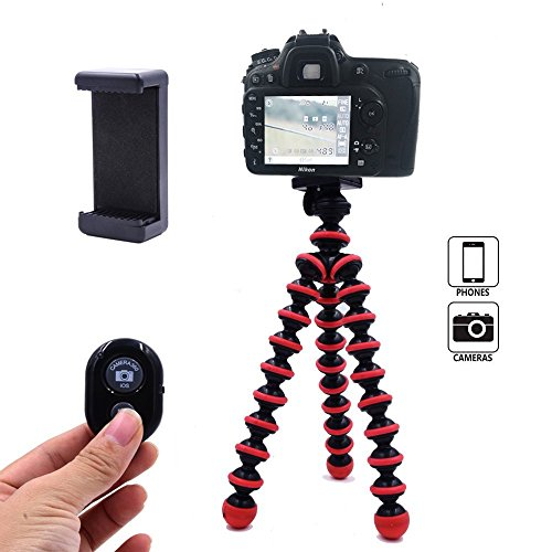 DAISEN mobile phone tripod for iphone universal smartphone cell phone camera tripod Arbitrary installed With remote control