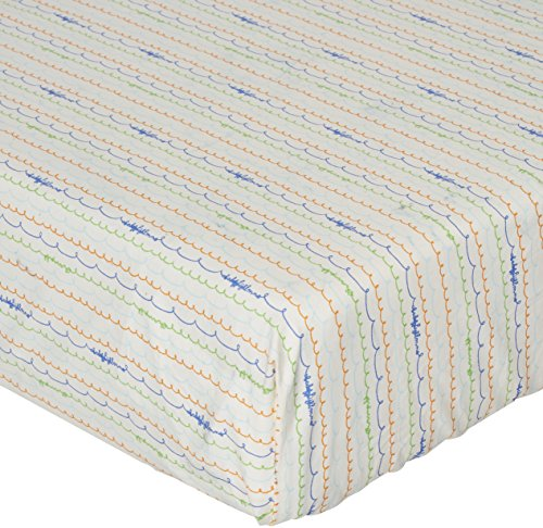Elastic Fitted Safety Sheets - Babyletto Fitted Crib Sheet, Alphabets